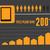 インフォグラフィック · 要素 · eps · 10 · オレンジ · グラフ - ストックフォト © RAStudio