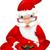 サンタクロース · 孤立した · 白 · ベクトル · eps - ストックフォト © RAStudio