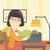 homme · écrit · machine · à · écrire · affaires · papier · fenêtre - photo stock © rastudio