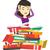 студент · книгах · кавказский · устал - Сток-фото © rastudio
