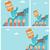 Cartoon · бизнесмен · воздуха · бизнеса · говорить · ретро - Сток-фото © rastudio