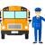 school bus driver stock photo © rastudio