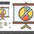 presentatie · projector · scherm · lijn · icon · hoeken - stockfoto © rastudio