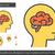 脳 · アイコン · 孤立した · 白 · 健康 · 芸術 - ストックフォト © rastudio