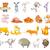 面白い · 家畜 · ペット · ベクトル · 漫画 · 孤立した - ストックフォト © rastudio