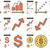 groei · trend · lijn · icon · vector · geïsoleerd - stockfoto © rastudio