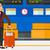 kaukázusi · férfi · áll · repülőtér · bőrönd · fiatal - stock fotó © rastudio