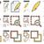 tartalom · vonal · ikon · gyűjtemény · vektor · izolált · fehér - stock fotó © rastudio