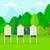 cartoon · insectes · prairie · illustration · drôle · nuages - photo stock © rastudio