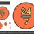 vinte · quatro · linha · ícone · 24 · vetor - foto stock © rastudio