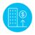 роста · недвижимости · рынке · линия · икона · веб - Сток-фото © rastudio