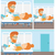 médico · tocante · abdômen · masculino · paciente · feminino - foto stock © rastudio