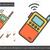 ポータブル · ラジオ · セット · 行 · アイコン · ベクトル - ストックフォト © rastudio