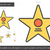 movie star line icon stock photo © rastudio
