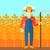 農家 · ベクトル · デザイン · 実例 · 孤立した - ストックフォト © rastudio