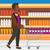 supermarkt · vector · ontwerp · illustratie · verticaal - stockfoto © rastudio