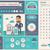ingatlan · terv · infografika · sablon · elemek · illusztrációk - stock fotó © rastudio