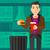 человека · мусор · есть - Сток-фото © rastudio