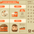 fast food flat design infographic template stock photo © rastudio