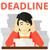man having problem with deadline stock photo © rastudio
