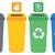 papel · reciclagem · separação · desperdiçar · simplificada · ilustração - foto stock © rastudio