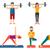 rajz · stílus · vektor · gyerekek · játszik · sportok - stock fotó © rastudio
