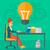 terv · kreatív · munkaterület · számítógép · üzlet · iroda - stock fotó © rastudio