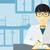 генетика · врач · человека · медицинской · исследований · испытание - Сток-фото © rastudio