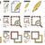 content edition line icon set stock photo © rastudio