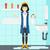 woman in despair standing near leaking sink stock photo © rastudio