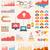 cloud service infographic elements stock photo © rastudio