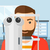 paciente · ojo · hombre · optometrista · médicos - foto stock © rastudio