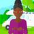 mulher · em · pé · motor · casa · caucasiano - foto stock © rastudio
