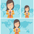 女性 · スマートフォン · 市 · ベクトル · デザイン · 実例 - ストックフォト © rastudio