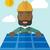 vecteur · style · écologie · énergie · solaire · désert - photo stock © rastudio