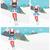 young man skiing vector illustration stock photo © rastudio