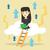 женщину · технологий · молодые · азиатских · деловая · женщина - Сток-фото © rastudio