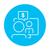 business · video · onderhandelingen · lijn · icon · man - stockfoto © rastudio