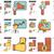 gestão · pessoas · ocupação · símbolos · moderno - foto stock © rastudio