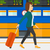 woman walking with suitcase stock photo © rastudio