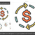 currency exchange line icon stock photo © rastudio