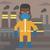 man in protective chemical suit stock photo © rastudio