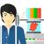 adam · üç · yazıcı · Asya · ayakta · 3D - stok fotoğraf © rastudio
