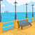 cartoon background of embankment stock photo © rastudio