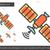 satélite · linha · ícone · teia · móvel · infográficos - foto stock © rastudio