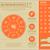 musique · ligne · icônes · orange · stock · vecteur - photo stock © rastudio