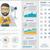 media flat design infographic template stock photo © rastudio