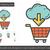 online · winkelen · lijn · icon · mobiele · telefoon · winkelwagen · scherm - stockfoto © rastudio