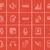hoofdtelefoon · microfoon · schets · icon · vector · geïsoleerd - stockfoto © rastudio
