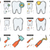 Stomatology line icon set. stock photo © RAStudio